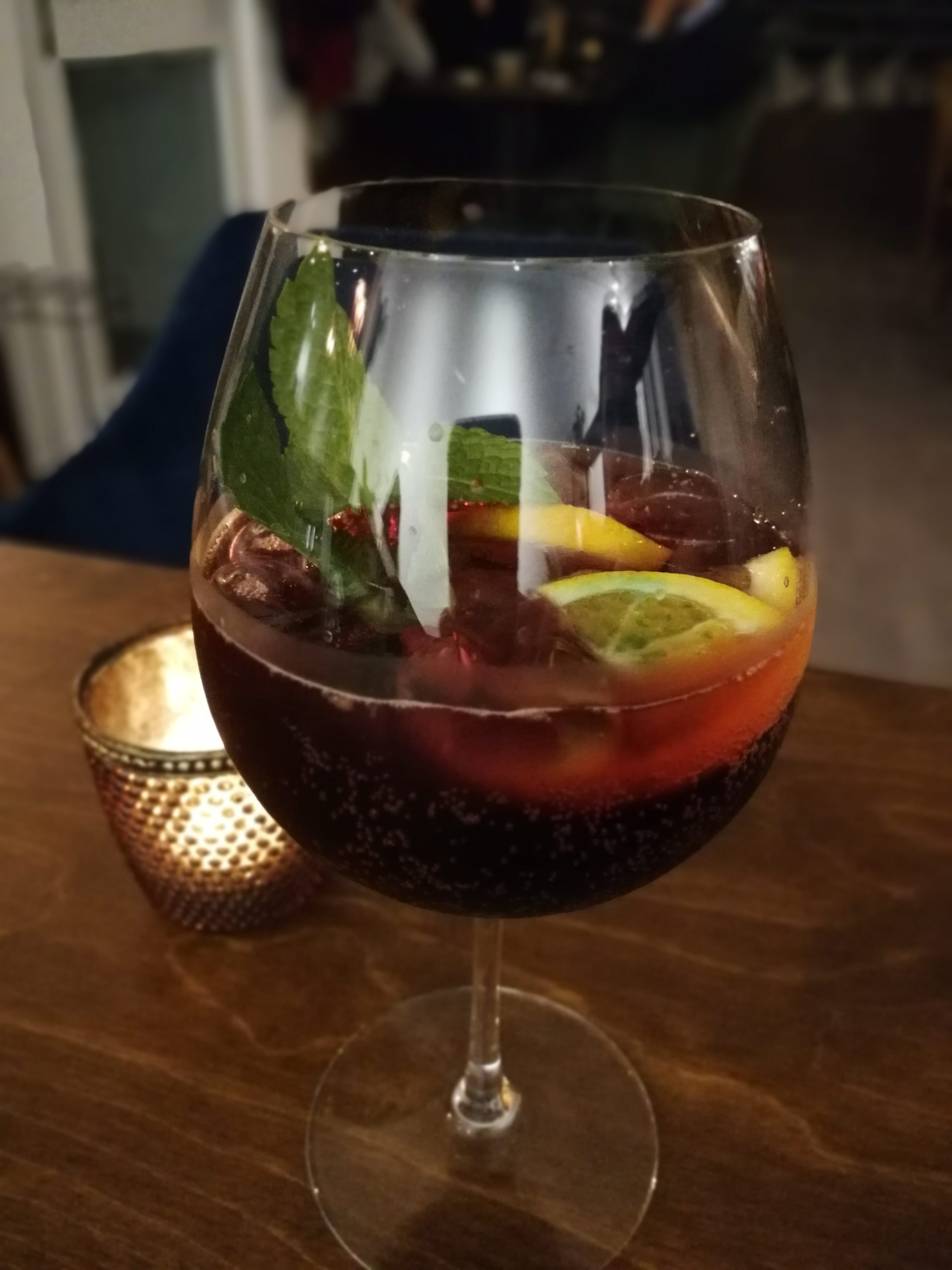 Abendlicher Cocktail