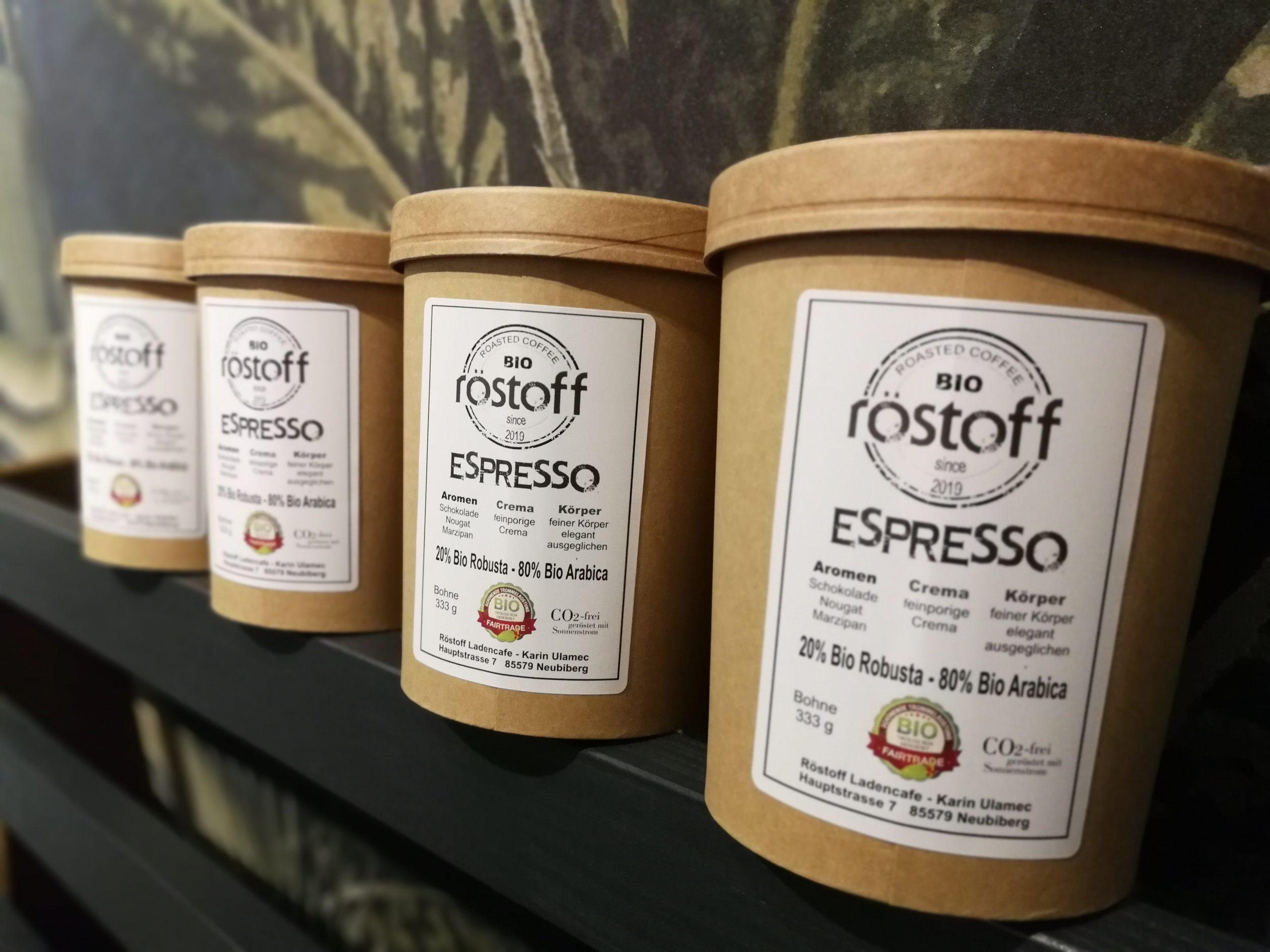 Bio-Espressorröstung