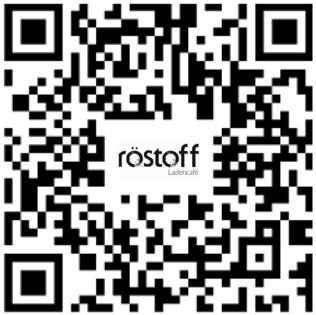 Wir nutzen die luca App: Ladencafé Röstoff